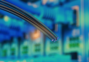unlike traditional transmission methods that send signals through  metallic-based systems, fiber optics are not electrical in nature