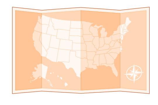 nationwide coverage illustration orange